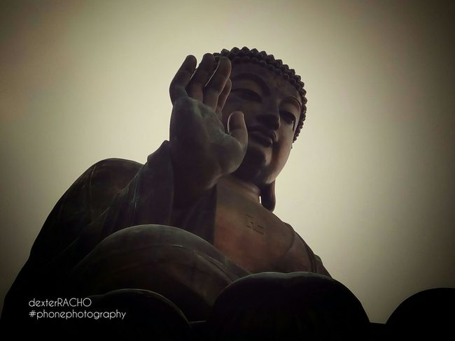 Seeing The Sights HongKong NgongPing Bigbuddha Buddha Hello World Taking Photos Check This Out Hi! Enjoying Life Eyeem Philippines Newbie Photooftheday Showcase: November Travel EyeEm Best Shots EyeEm Gallery No People EyeemPhilippines