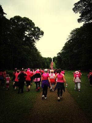 Race For Life 1st July 2012 at Temple Newsam by Erika Sissons