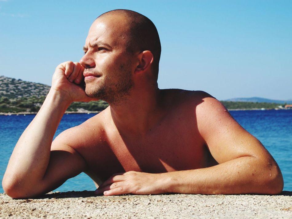 Sea Water Relaxation Sunlight Summer Vacations Pasmanisland