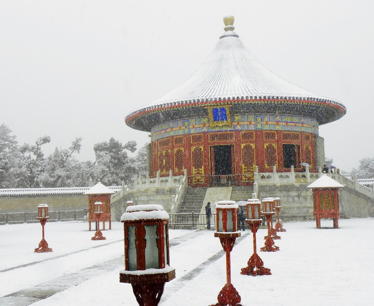 Architecture Beijing Beijing China Beijing Scenes BEIJING 北京 Beijing, China BEIJING北京CHINA中国BEAUTY Building Exterior Built Structure Clear Sky Cold Temperature Day Nature Outdoors Pechino Real People Sky Snow The Forbidden City  The Forbidden City Beijing Winter