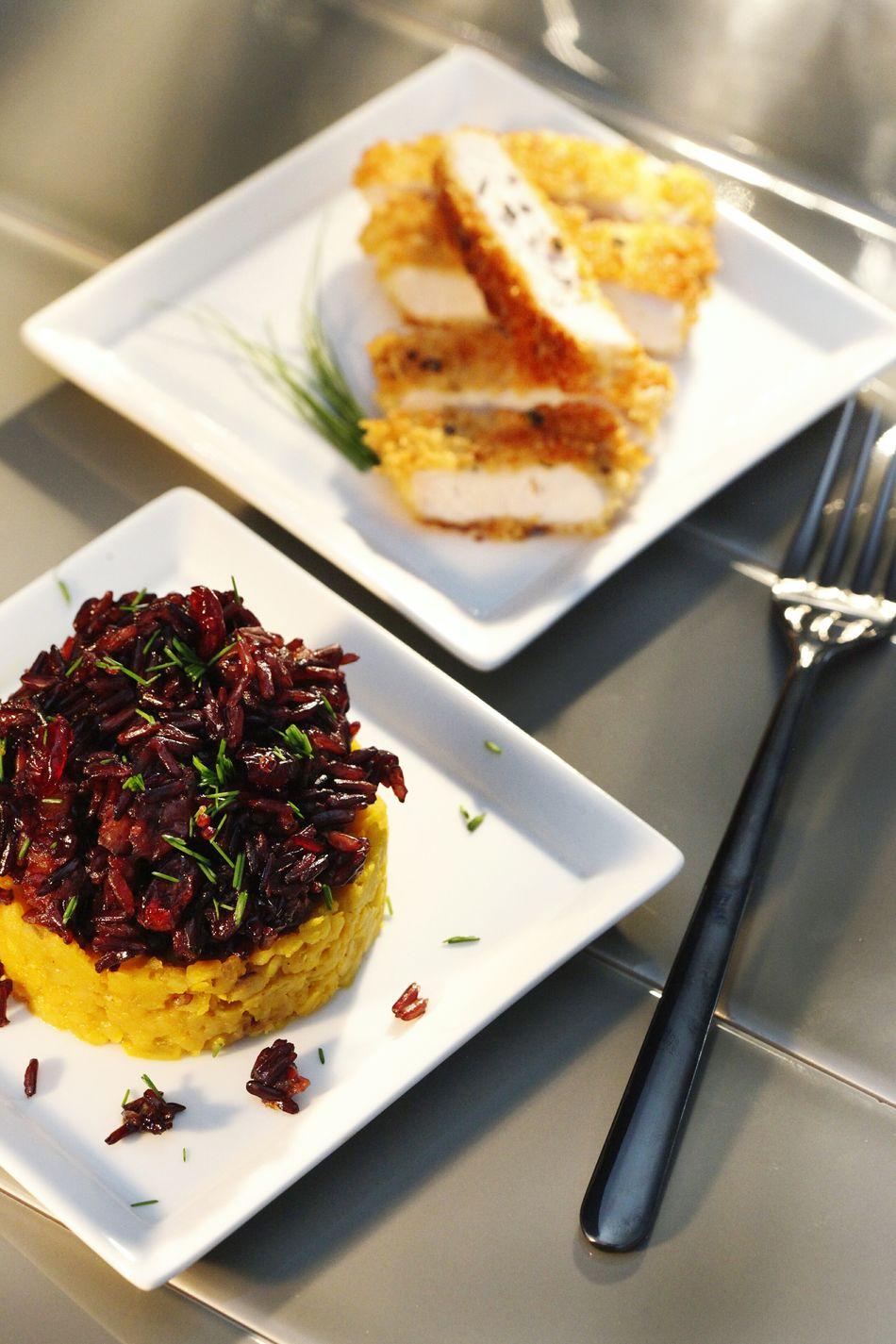 Food Photography Foodstyling Food Chicken Katsu Forbidden_rice Lentils
