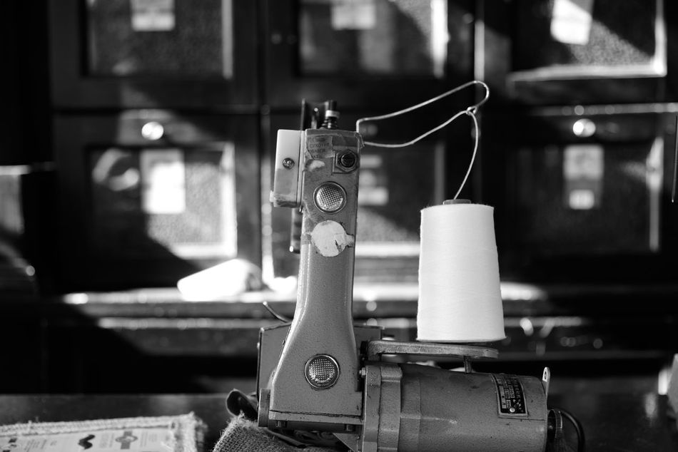 Focus On Foreground Old-fashioned Sewing Machine Lviv, Ukraine Outdoor Photography Black And White Photography Coffee Shop Coffe Factory Travel Destinations Nikon D810 B&h Street Photography City Caffe Machine NikonD810 Arts Culture And Entertainment Close-up Lviv Lvov Ukraine