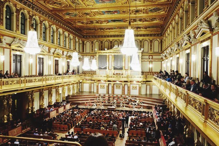 Wiener Musikverein Viena Viena, Austria Architecture Music