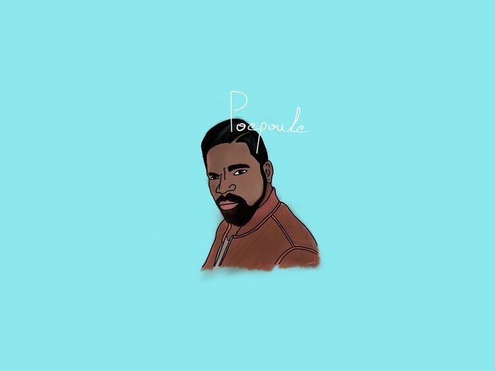 Barbers 2 Facial Expression Portrait Barbershop Painting Concept Ipadpro Drawing Ipadproart