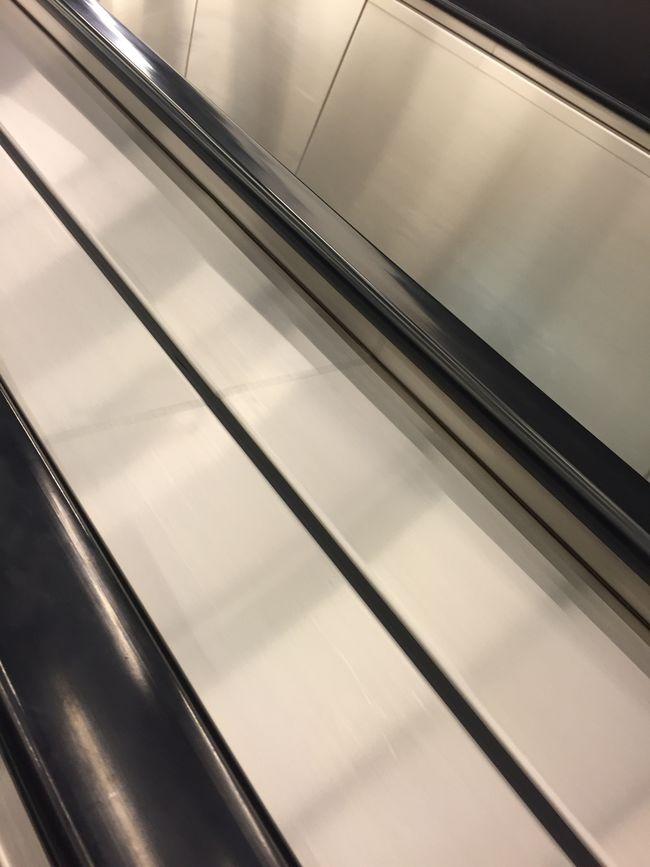 Lines Metal Escalator Industrial Getting Inspired