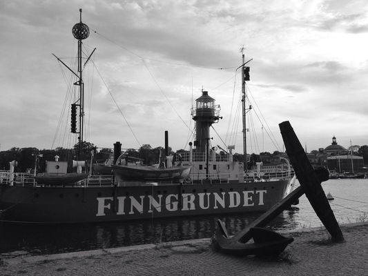 blackandwhite at Finngrundet by Axman70