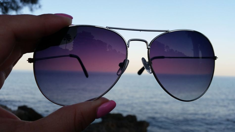 Sunglasses Holiday Trip Relaxing View Vacations Beach Sea Sand Water Sky Adventure No People Style