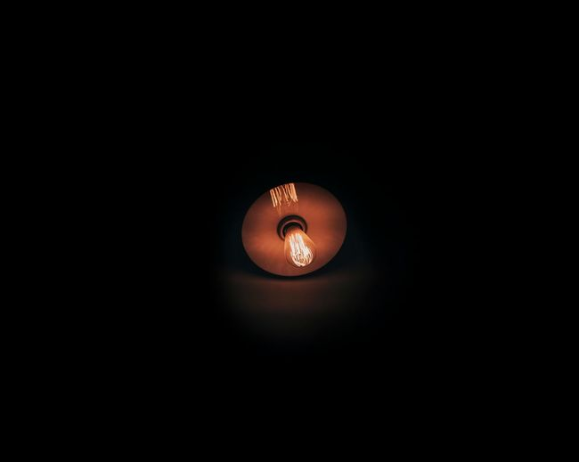 Alone light in night Best  Backgrounds Best EyeEm Shot Best Of EyeEm Bestoftheday Thailand ASIA Taking Photos Black Black Background Photography Light And Shadow Popular Photos Alone Illuminated Electricity  No People Low Angle View Black Background Technology Indoors  Close-up