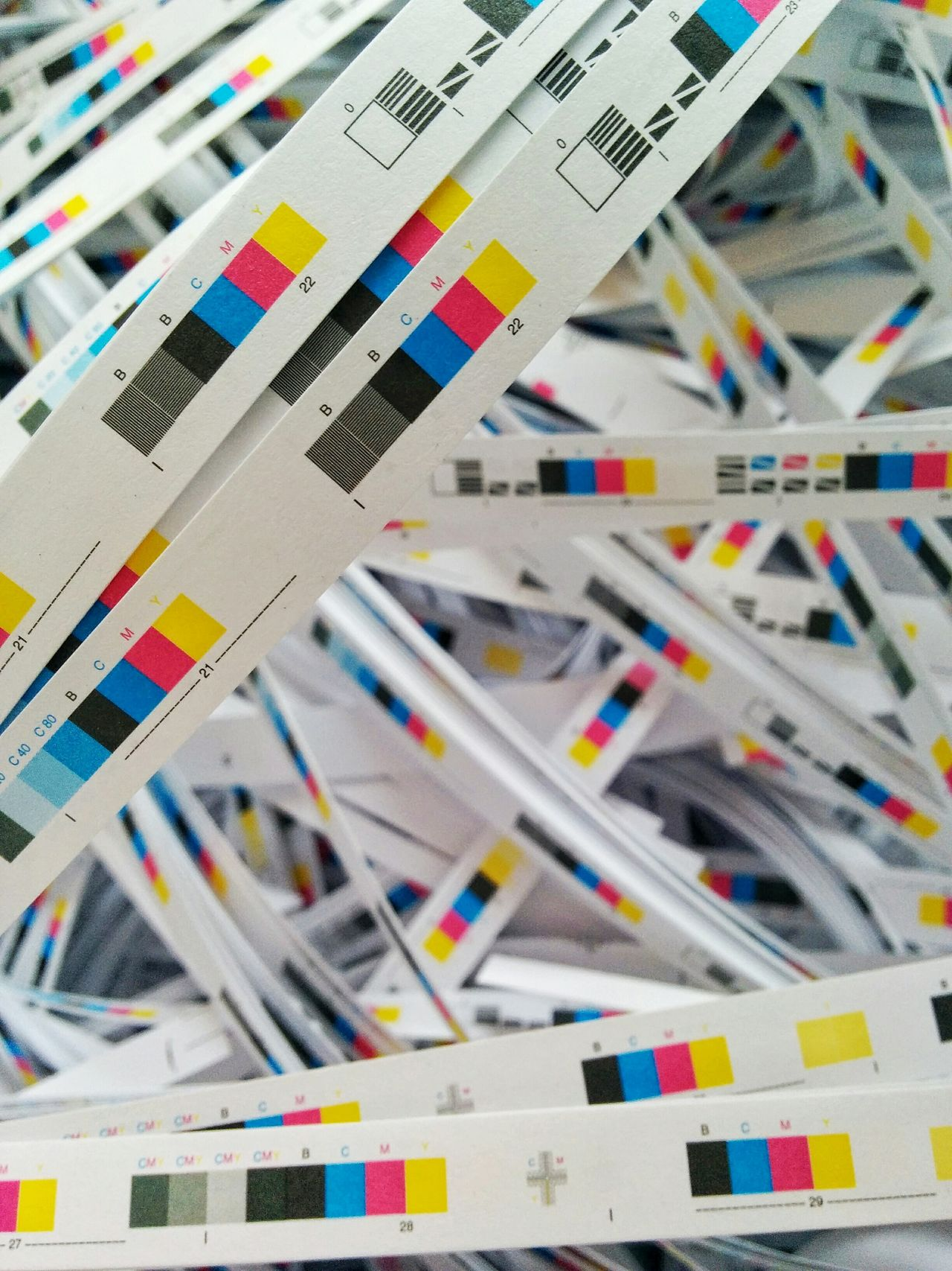 Printing House Ink Press Printing Print Colors Colorful
