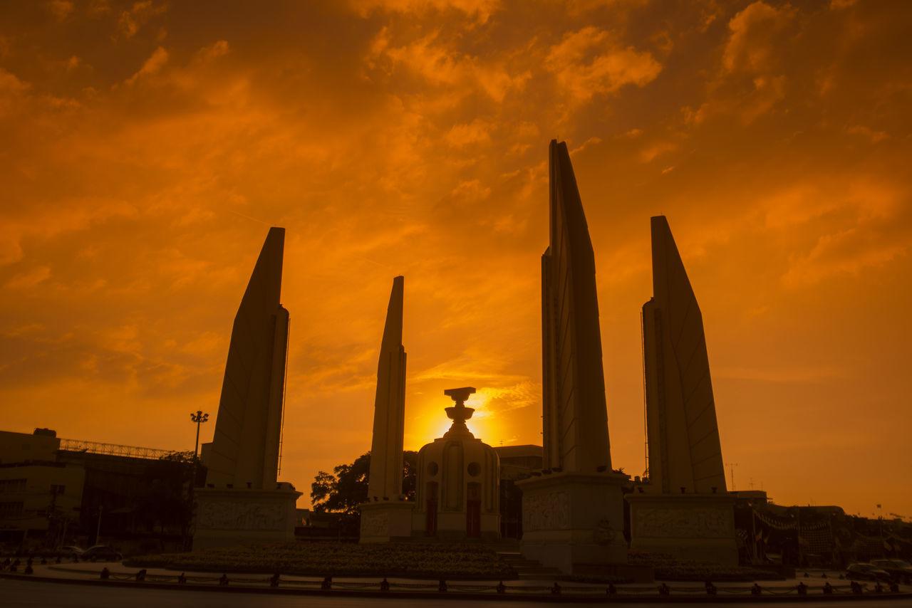Beautiful stock photos of bangkok, Bangkok, Horizontal Image, Orange, Thailand