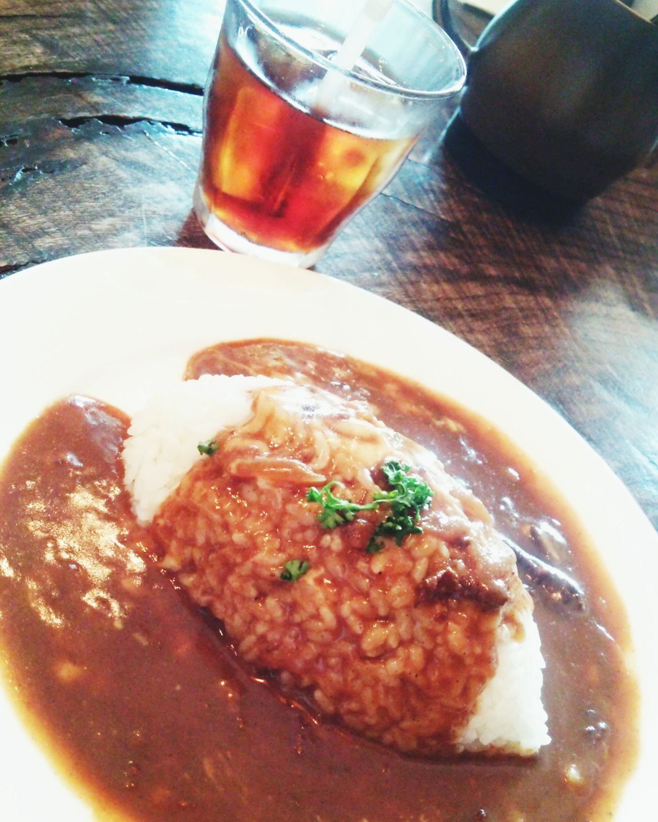 私、これより大阪市民になりました。 探索するぜ! Curry Rice Cafe