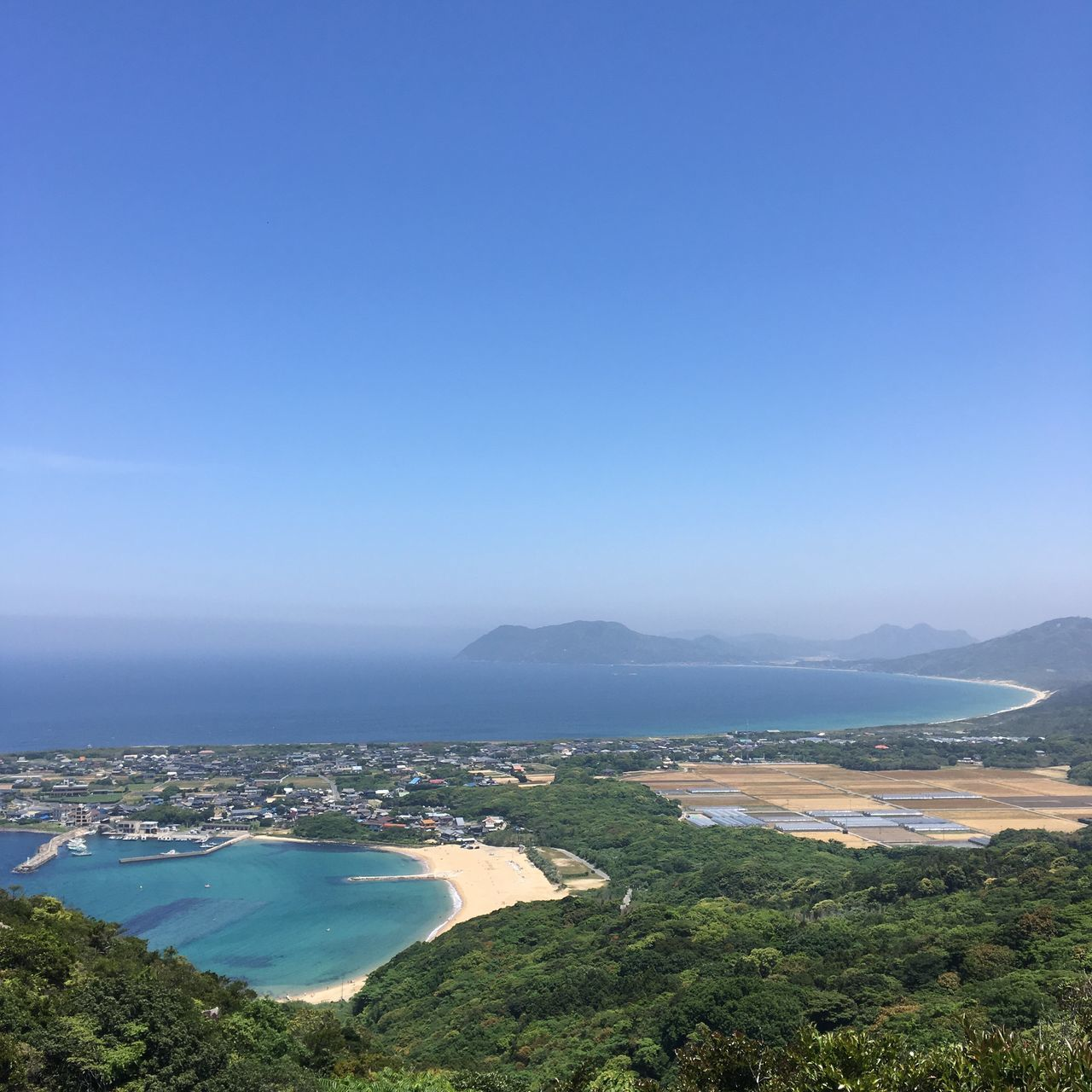 Fukuoka Blue Sea Mountain Outdoors Beach Itoshima Mt.Tateishi Japan Fukuoka,Japan Coastline Shoreline Sky Beauty In Nature Landscape Clear Sky Niceview Beautiful
