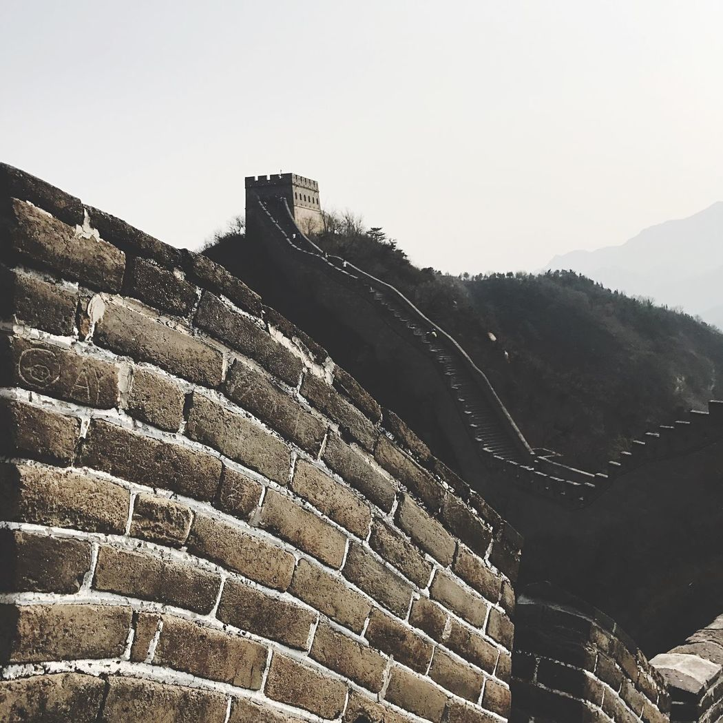 Beijing, China Historical Building Historical Built Structure Architecture Beijing Greatwallofchina Greatwall Badaling Building Exterior No People Day Outdoors BEIJING北京CHINA中国BEAUTY Beijing China
