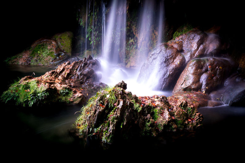 Nature beauty in Nature water waterfall Nature Beauty In Nature Water Waterfall Beauty In Nature Catalunyafotos Catalunyagrafias Catalunyaexperiencie No People Freshness Full Frame Nature Tranquility Tranquil Scene Water Collection  Catalunya Magic Hour D800 D800 My Love Green Color Eyemphotography Scenics Forest Tree Long Exposure Rock Formation Travel Destinations Day Outdoors Motion
