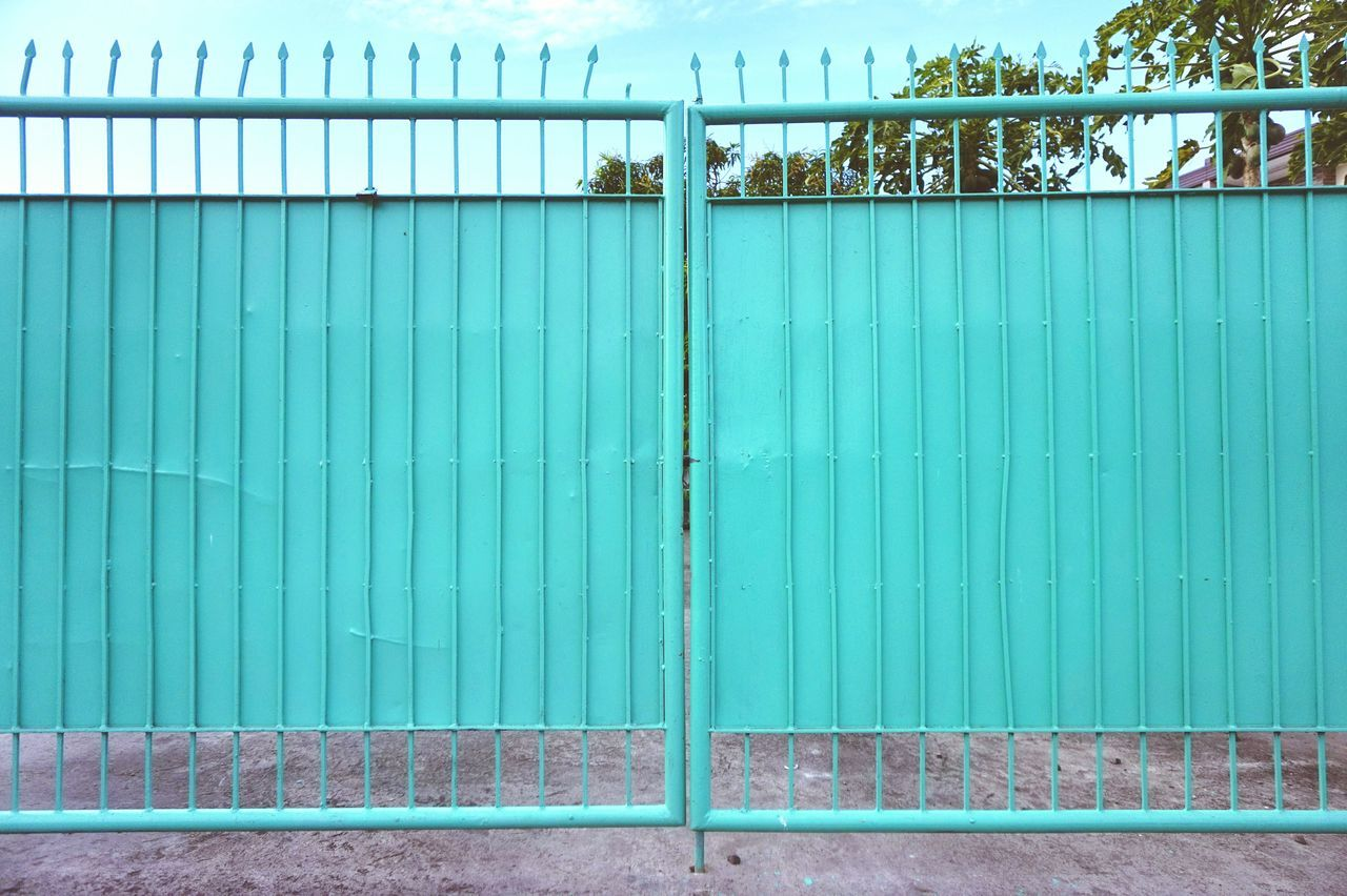 Gate of green. Gate Green Gate Pastel Pastel Color Pointed Gate Steel Gate Security Home Security Eyeem Philippines Eyeem Photography The Week On EyeEm House Gate House Facade House Number Home Exterior Green Color Green Parallel Lines