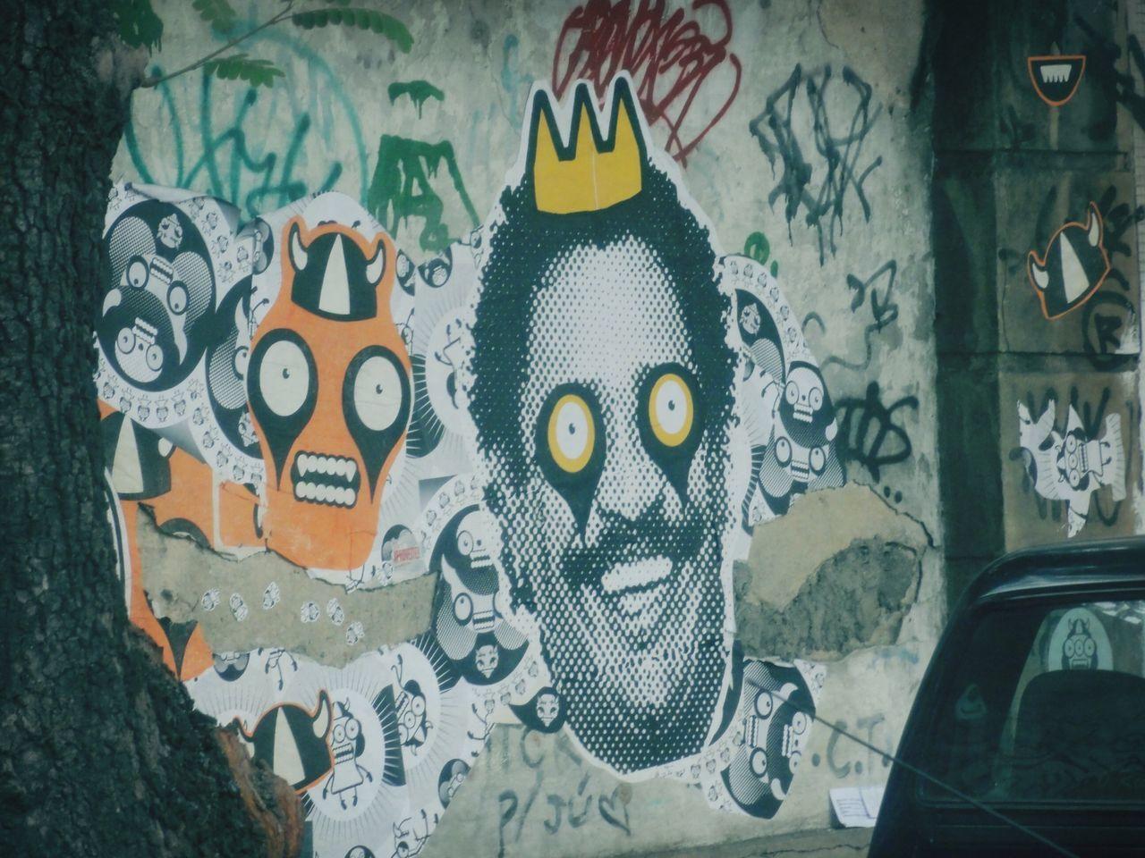 "Graffit art 2. ""Know nothing, inocent."" (Sabe de nada inocente) - by Cumpadi Washington. Street Art Crazy Taking Photos Hanging Out"