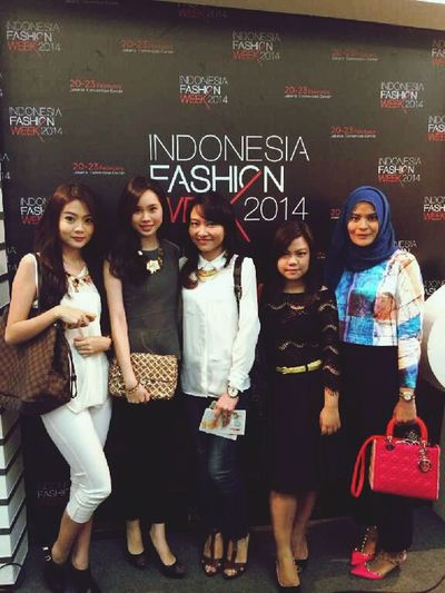 Indonesia Fashion Week 2014 wiv the dolls. Fashion Bestfriends Ootd IFW2014