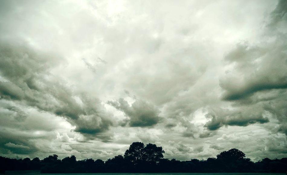 Feeling warmth under the Darkening Skies. A storm about to break. Showcase:July