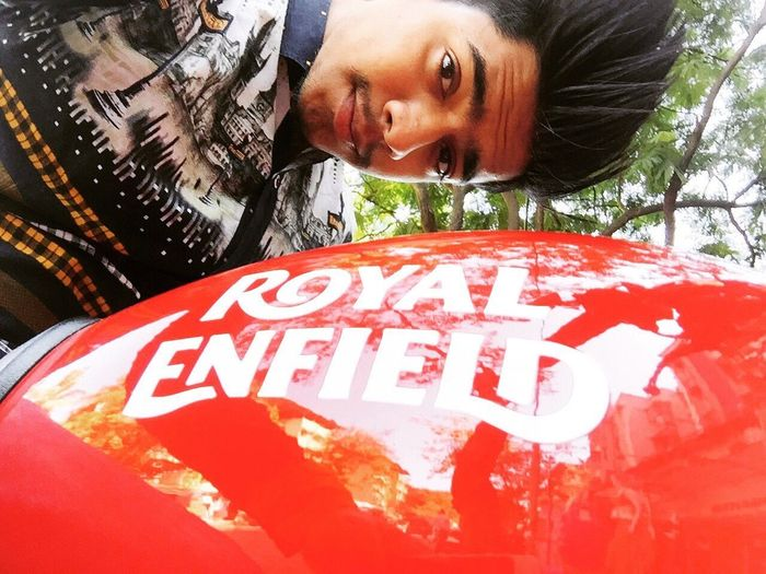 Royalenfield Reditch Reditchred Bullet Superbike Art Is Everywhere