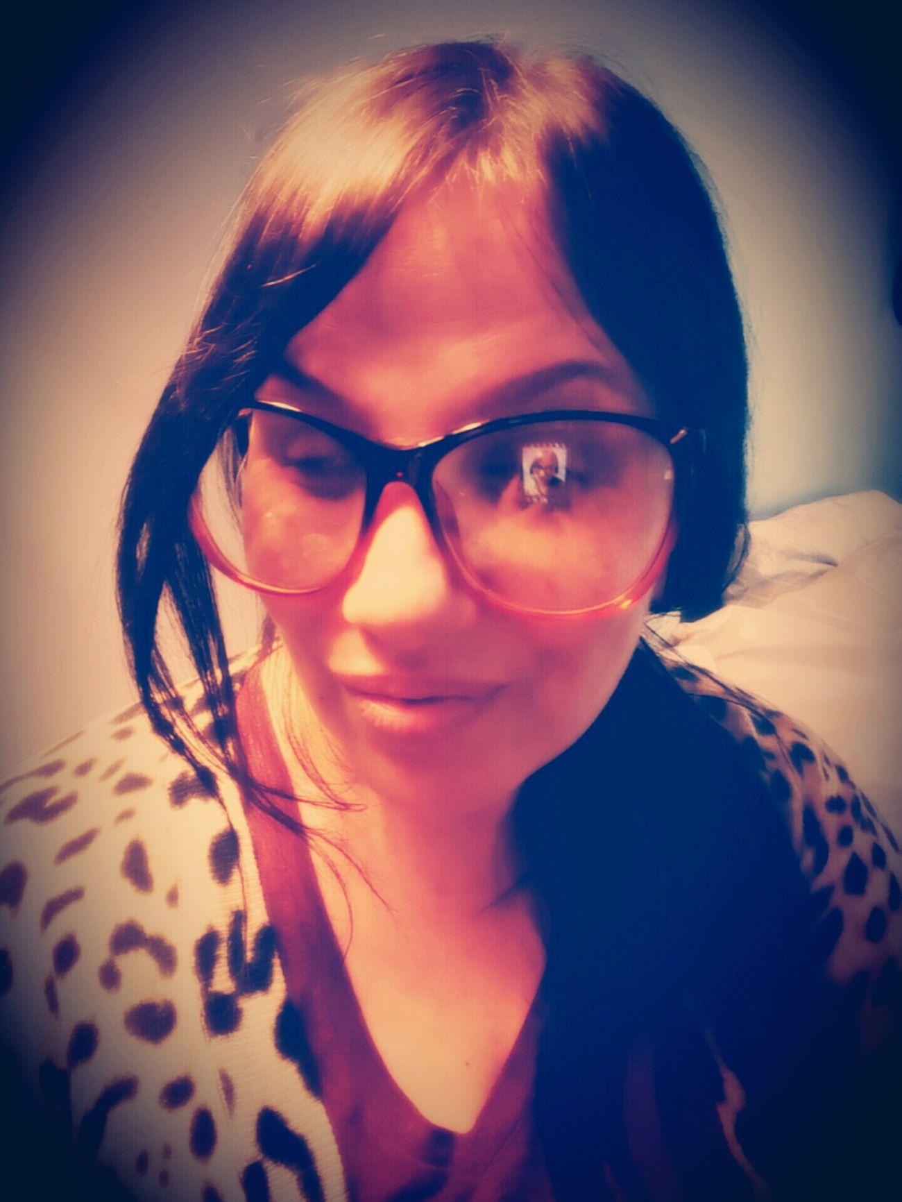 Taking Photos Self Self Portrait Selfie ✌ Self Portrait Around The World Me Glasses :) Glasses👌 Moi Cheetah Print Edited Selfie ♥ Womenofeyem