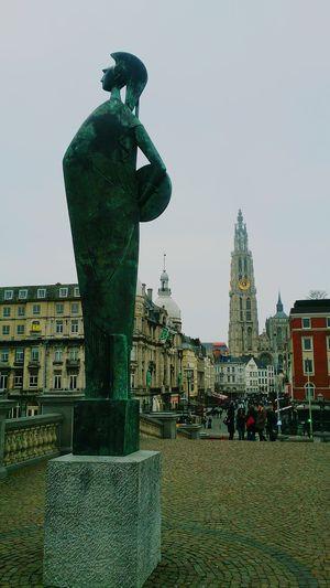 Antwerpen Taking Photos