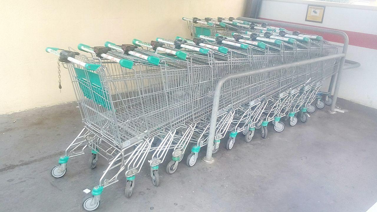 Supermarket Supermercado CarritoCompra Nopeople Outdoors