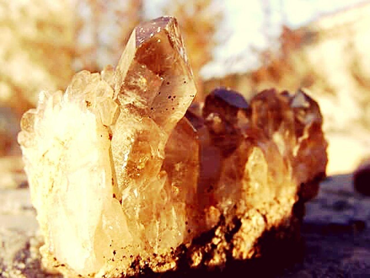 Healing Stone Close-up Freshness Crystal Stone