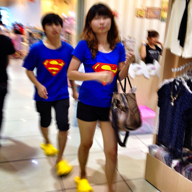 Superman and women