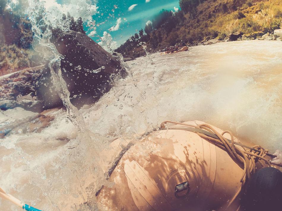 Whitewater rafting around Cusco area (G Adventures Inca Heartland tour 2016) so much fun.... Action Adrenaline Boat Cusco Day Fun Gadventures Gopro GoPro Hero3+ Motion Nature Outdoors Paddling Peru Peru Traveling Rafting River Water Whitewater Whitewater Rafting Whitewaterrafting