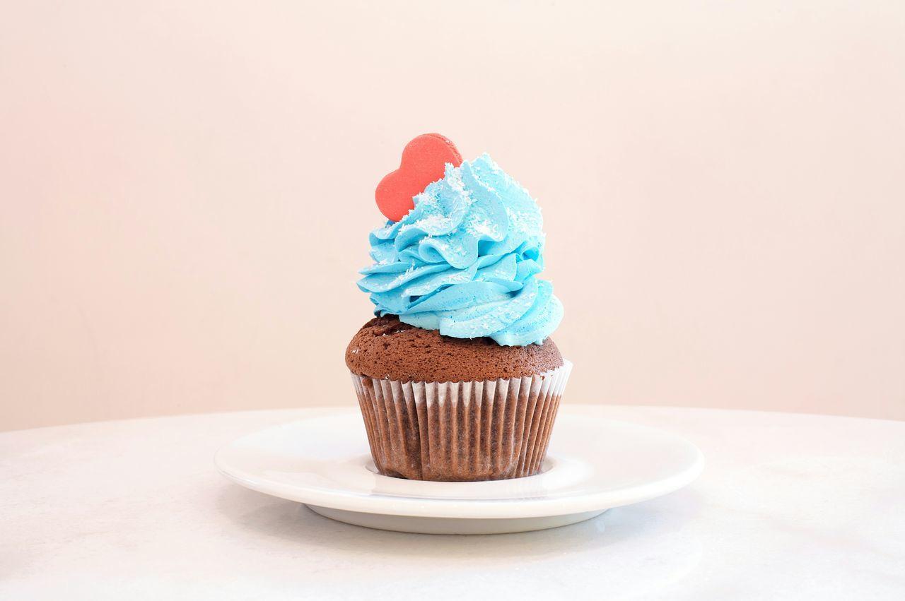 Beautiful stock photos of cupcake, Blue, Cupcake, Day, Dessert