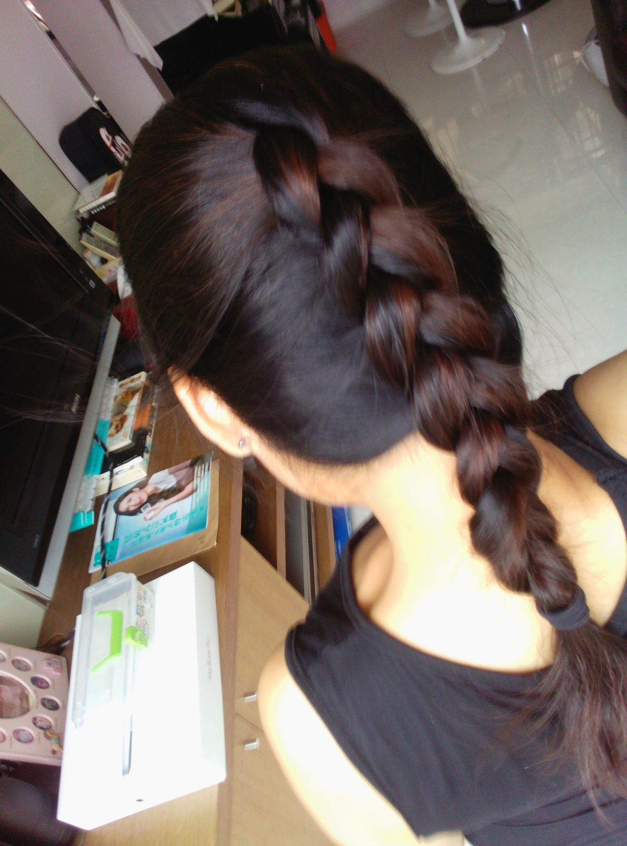 Braided Hair by myself
