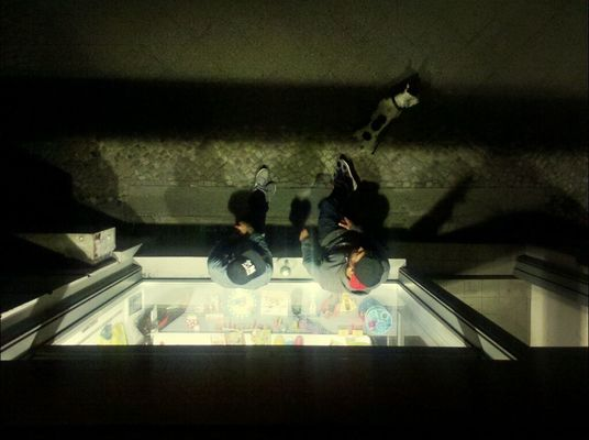 lookingdown at büro präsident by gibsy