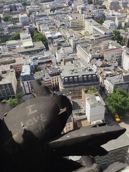 Köln Kölner Dom View From Above Cityscape