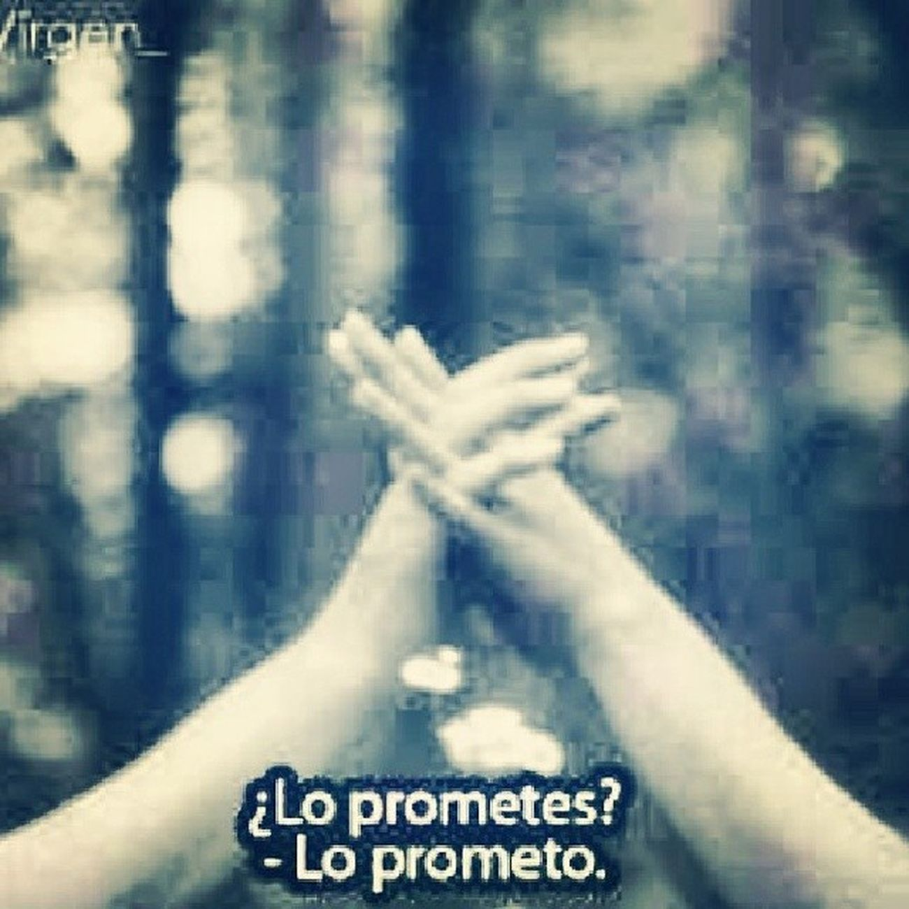Promise Promesa Hope Affair Willpower Trust Truth Love ForEver Happy