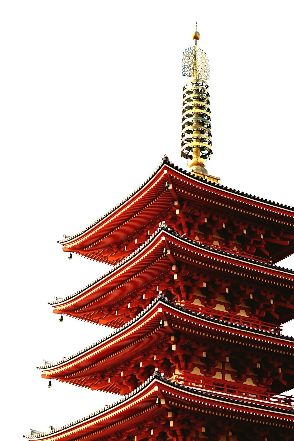 Senso-Ji Temple Architecture Building Exterior Japan Senso-Ji Temple Tokyo Red EyeEmNewHere Outdoors City Place Of Worship Day Sky