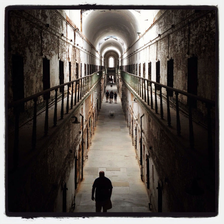 visiting at Eastern State Penitentiary by Christelle Lahoud