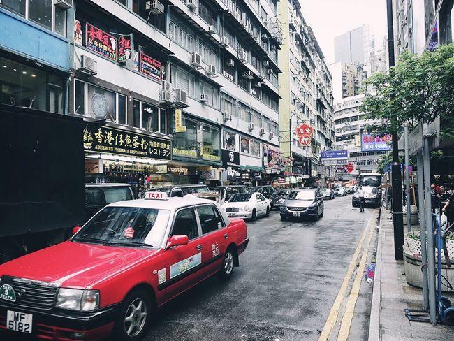 HongKong Taxi Hongkongstreet Traveling Travel Photography Travel China First Eyeem Photo