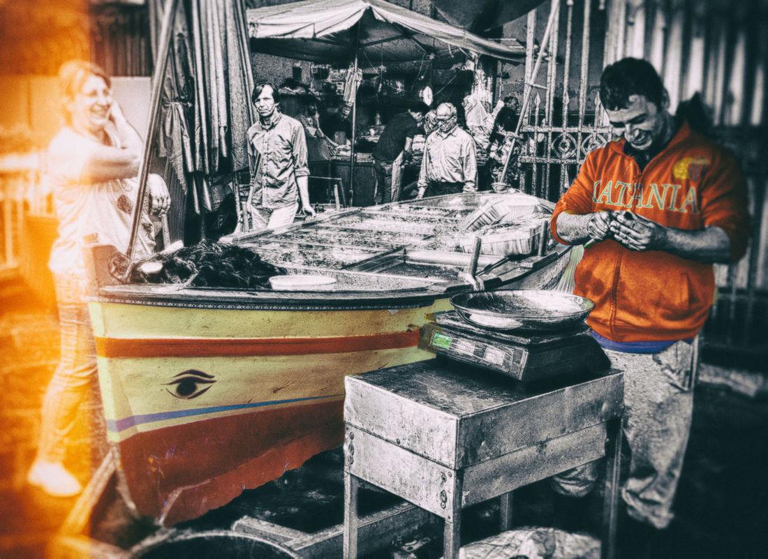 "Catania ""a Piscaria"" Marketfish HDR Streetphotography Italia Travel Destinations Sailing Ship Pietralavica Sailboat Nature Tranquility Amenano Calcio Catania Colorsplash"