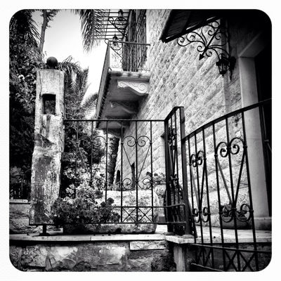 blackandwhite at Amchit-Al saha by Christelle Lahoud