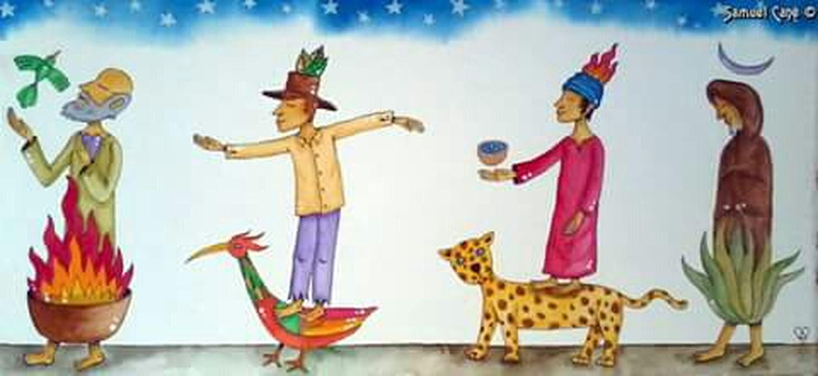 Mexico dibuixos d un Pintura Del Mestrepinta. EspatarrNt. Veure Pintura Curatuva