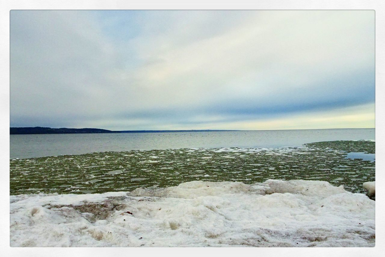 Horizon Over Water Nature Scenics Water Beach No People Beauty In Nature Eyemgallery Outdoors Lake Beach Photography Iced
