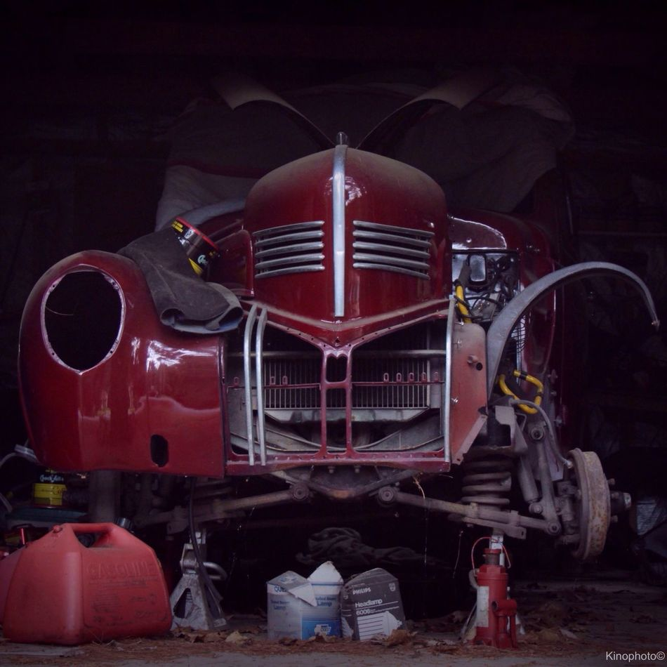 Work in progress... Vintage Cars Car Red Urbex