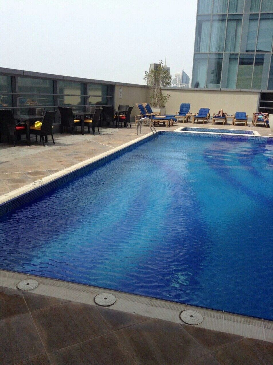 Swimming Pool Built Structure Building Exterior Architecture Water Outdoors Sky Day City Real People