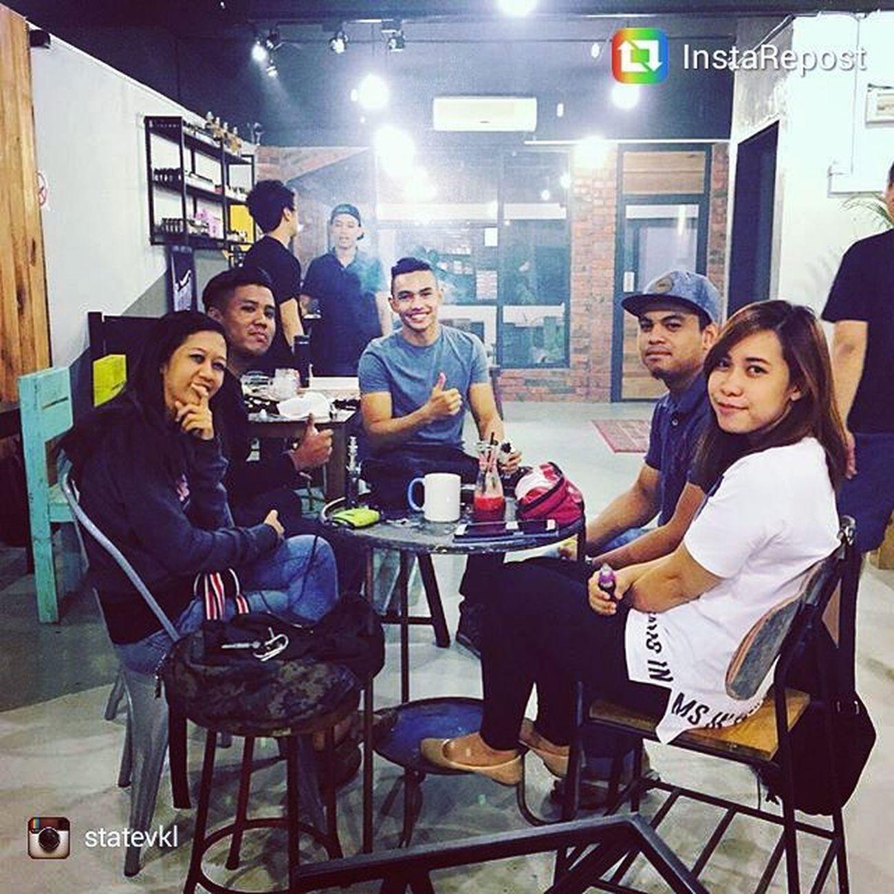 Find somewhere for Vape Cafe and chill out? Come here!! Come to @statevkl at : 🏬StateV Club Lounge No.135A, 1st Floor, Jalan Aminuddin Baki, 60000 TTDi, KL. 🔋Business Hours : 1pm - 12am daily EXCEPT Friday & Weekends : 1pm - 3am ◾◾◾◾ Vape Vaping ModCheck Vape vapefam dripclub cloudporn vapeporn vapegirls subohm vapeaddicts vapelife vapelyfe vapeon vapecommunity vapelove vapefamous ejuice mechmods vapestars vapehooligans vapegiveaway vapedaily vapestagram vapefriends guyswhovape juicecheck rumblejuice