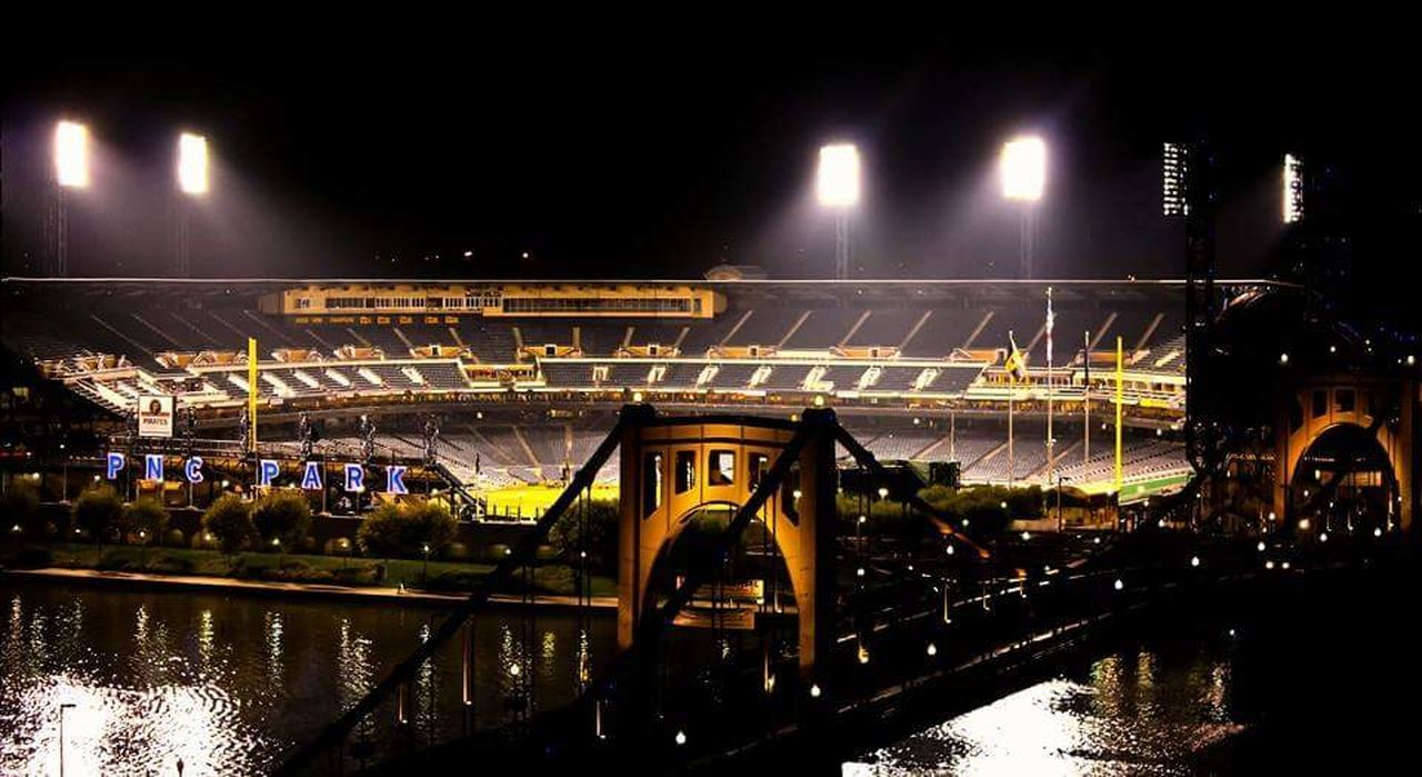 Baseball PNC Park Pittsburgh Pirates Game Roberto Clemente Bridge City Stadium