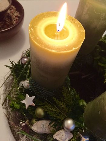 Advent Candle | Waiting for Christmas