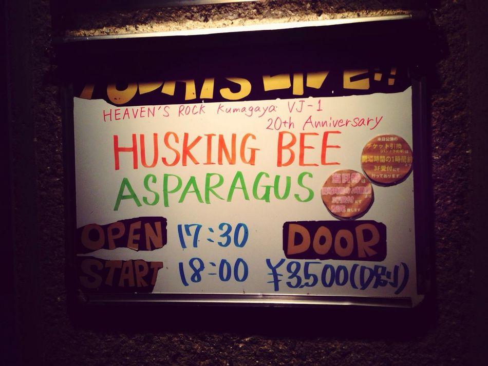 さいこう! HUSKING BEE Live LIVEHOUSE