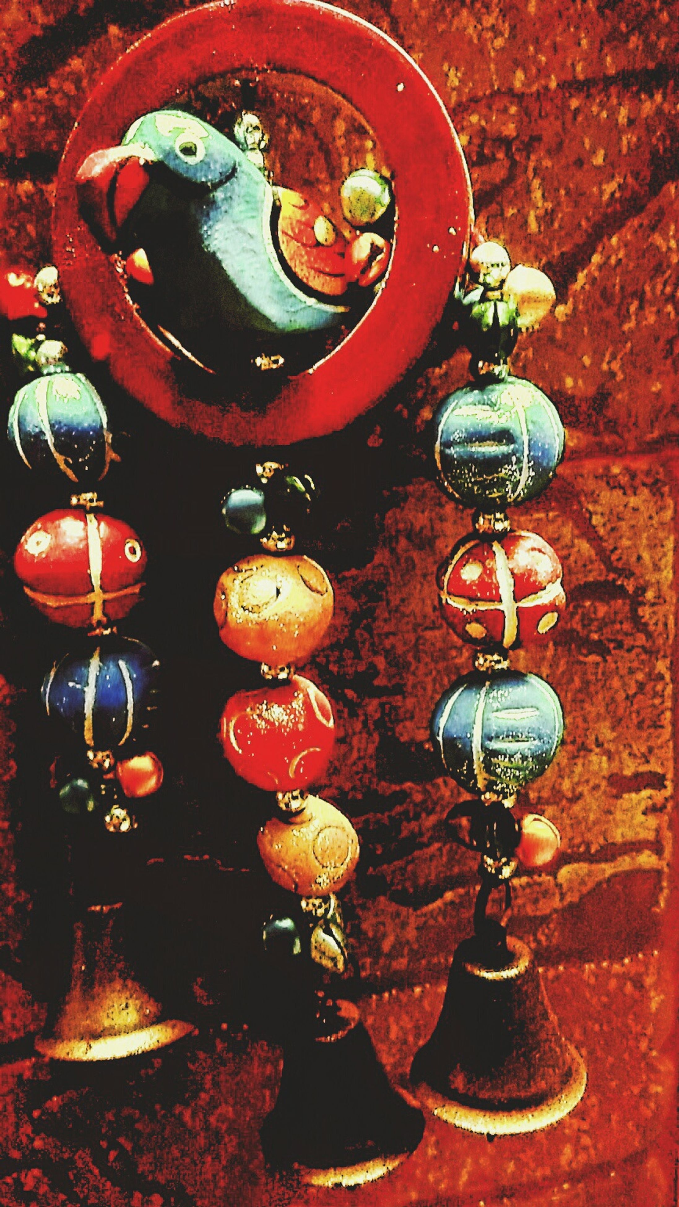 indoors, high angle view, hanging, still life, table, variation, no people, wall - building feature, metal, lantern, close-up, old-fashioned, decoration, red, arrangement, large group of objects, antique, old, day, wood - material