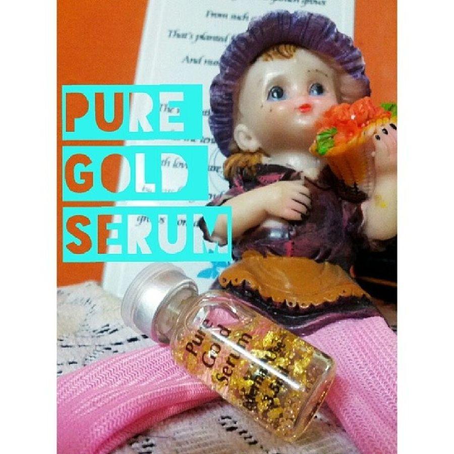 PURE GOLD SERUM RM22 EXCLUDE POSTAGE WASAP 0137471749 Sayajual Iklanig Bazarpaknil Serum