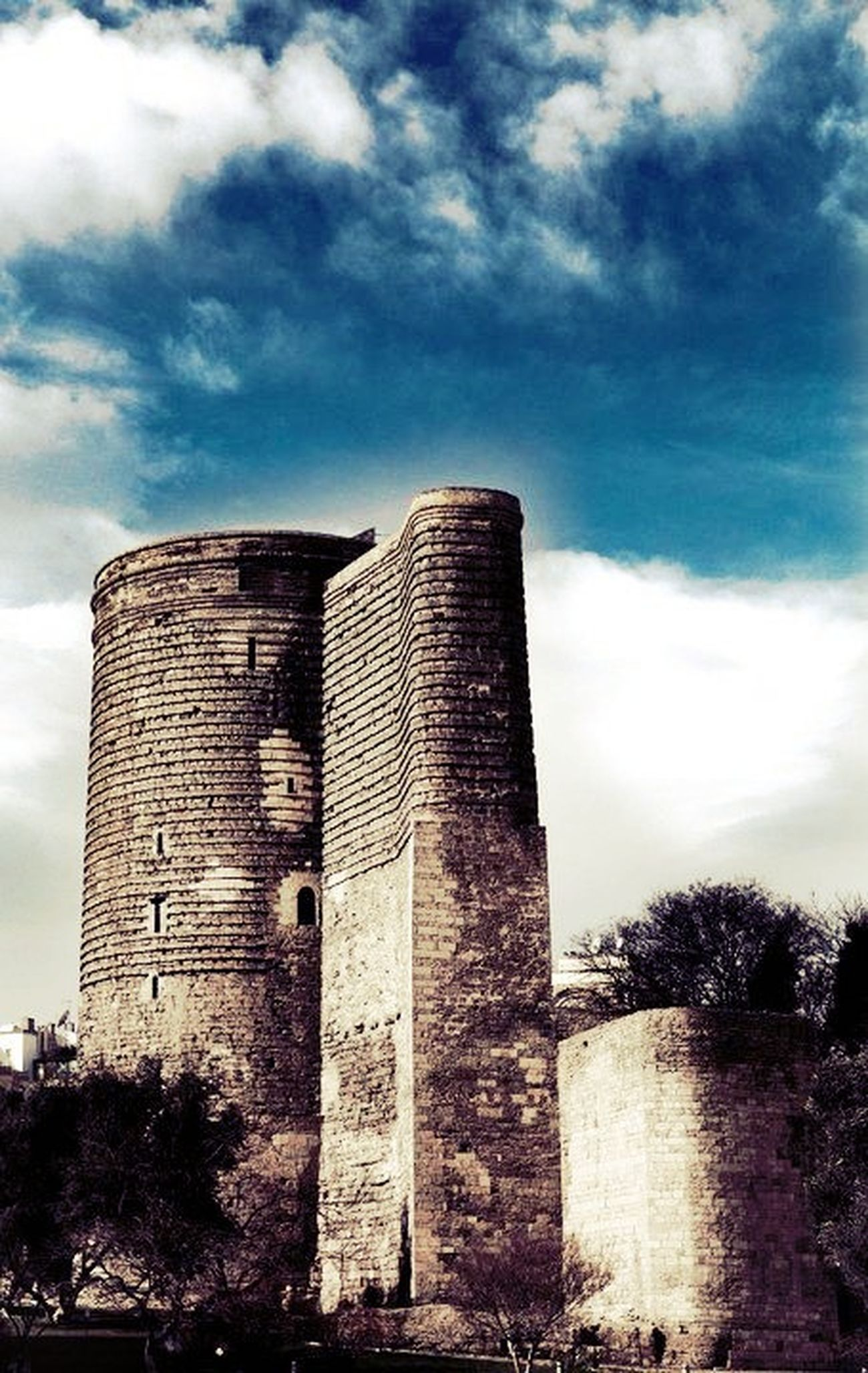 Maiden Tower at Baku - Azerbaijan Maiden Tower